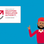 SRA trusted, verified solicitors logo